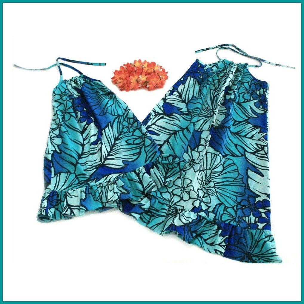5853a5661f4e1 Girls Hawaiian Dress, Ladies Hawaiian Dress, Mommy and Me, Beach ...