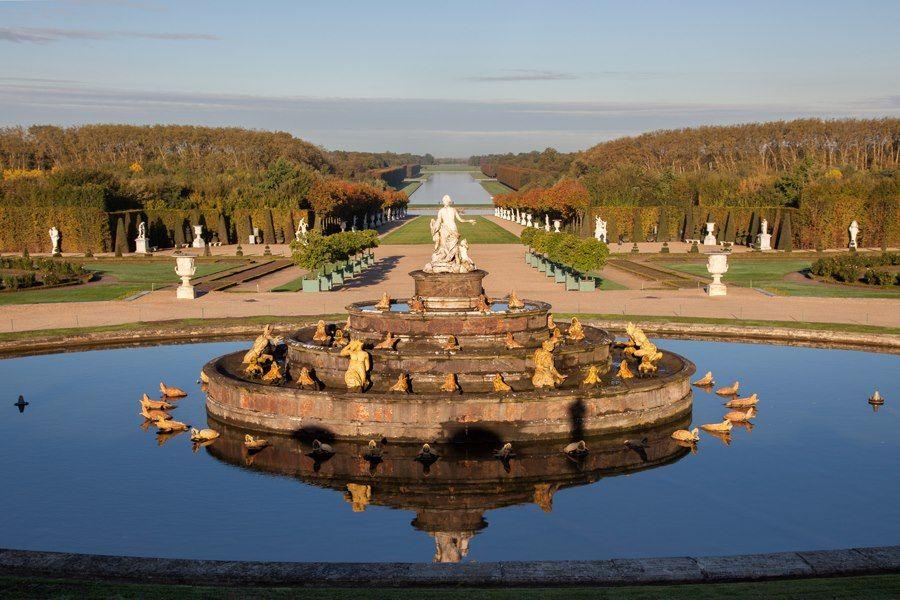 Les jardins de Versailles   Ile de france, Castle, Places ...