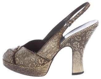 Prada Lizard Heels Reliable Sale Online Footlocker Finishline Sale Online Free Shipping Supply Sale Comfortable jzCV3N