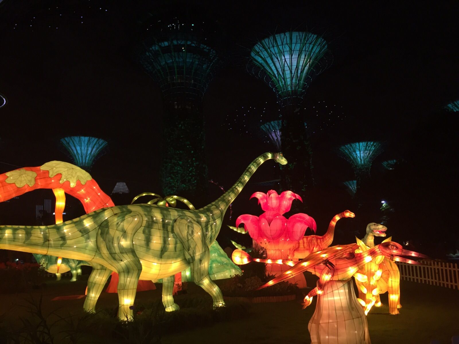 300 lanterns on display at gardens by the bay for mid autumn festival channel