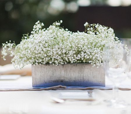 - Dainty and Lovely: 25 Easy Ideas of Baby's Breath Centerpieces…