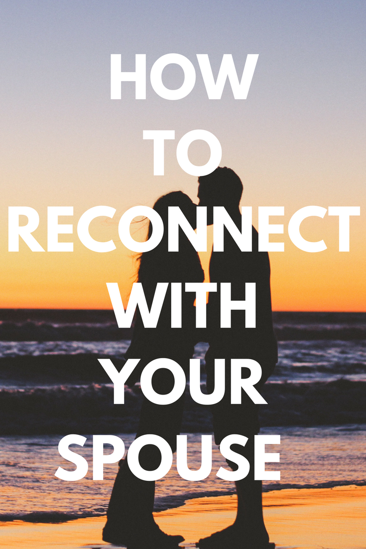 How to reconnect with your husband sexually
