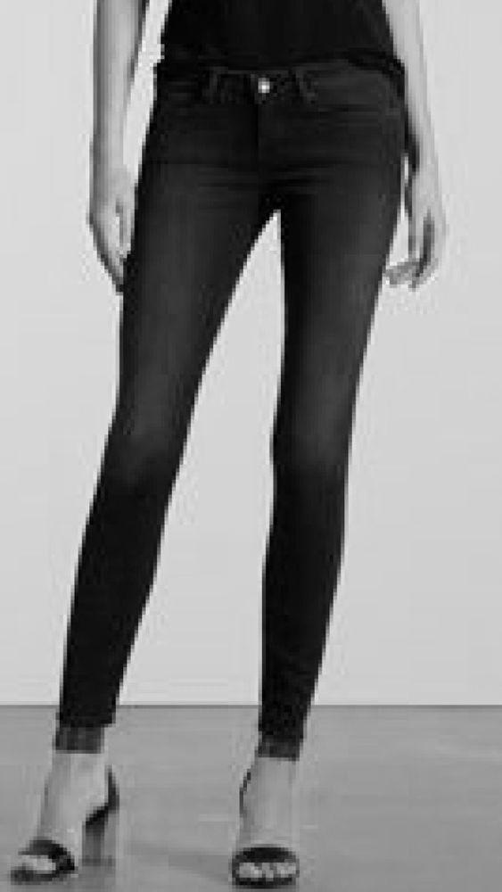 c14a1ba4200c Levi's 521 Ultra Low Skinny Jeans Women's Black Stretch Size 4 Or 27 X 32  NWT #Levis #SlimSkinny