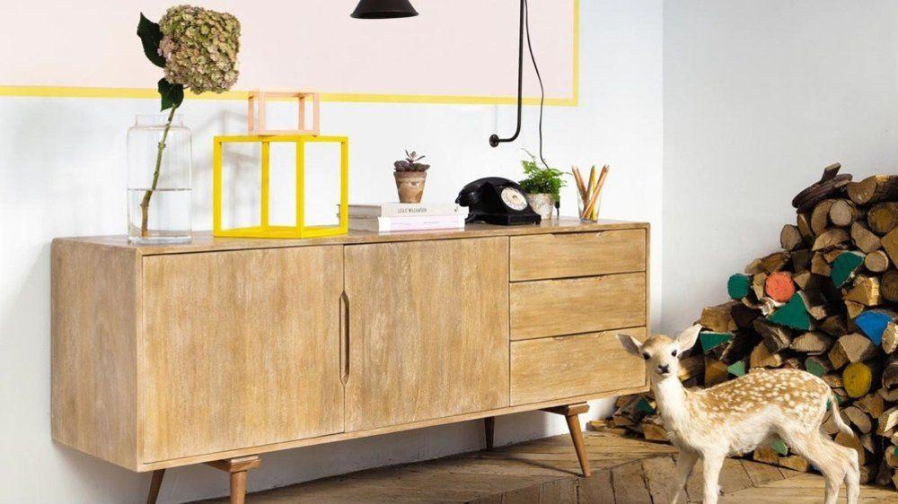 le m me en moins cher une enfilade scandinave m6 g pinterest buffet et vintage. Black Bedroom Furniture Sets. Home Design Ideas