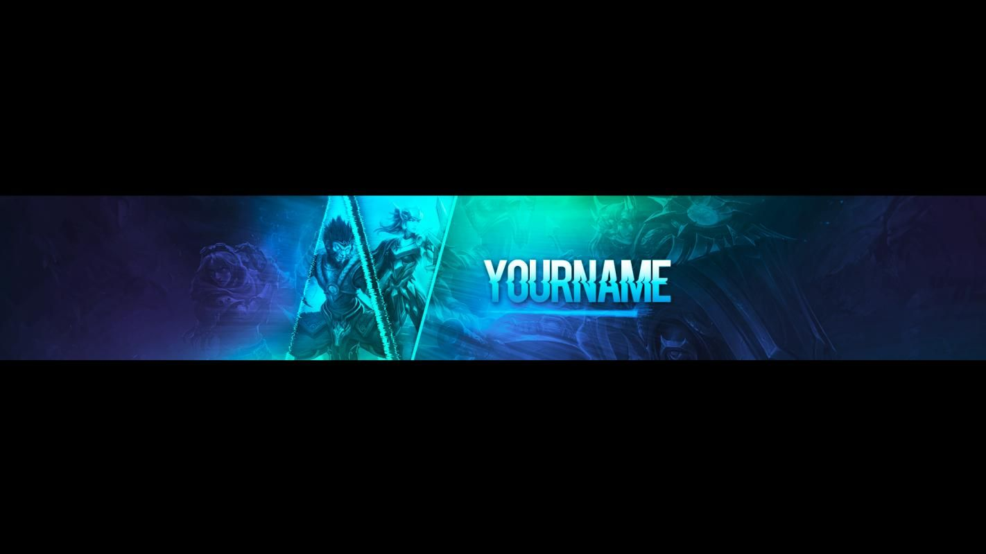 Banners For Youtube Youtube Banner Template Banner Template Banner