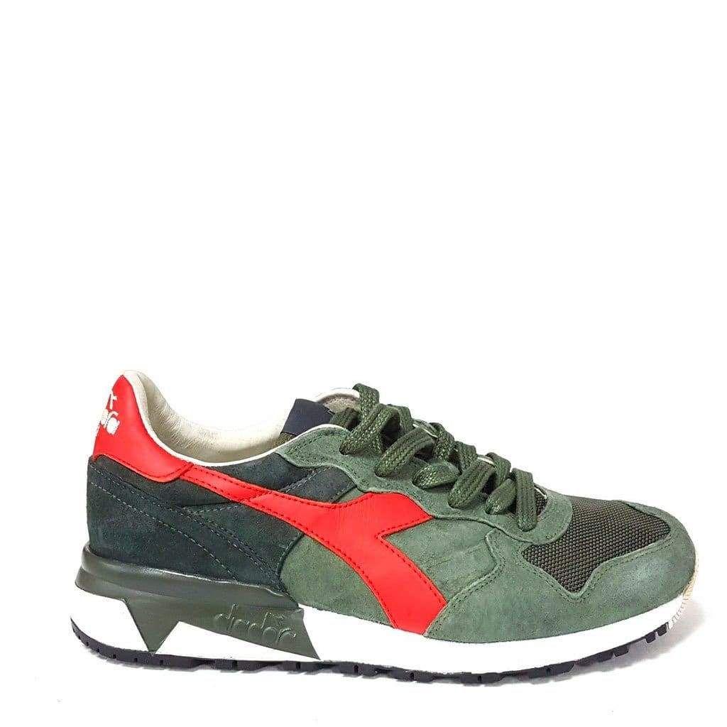 Diadora Heritage Trident Men Green Sneakers  3c300dfaae5
