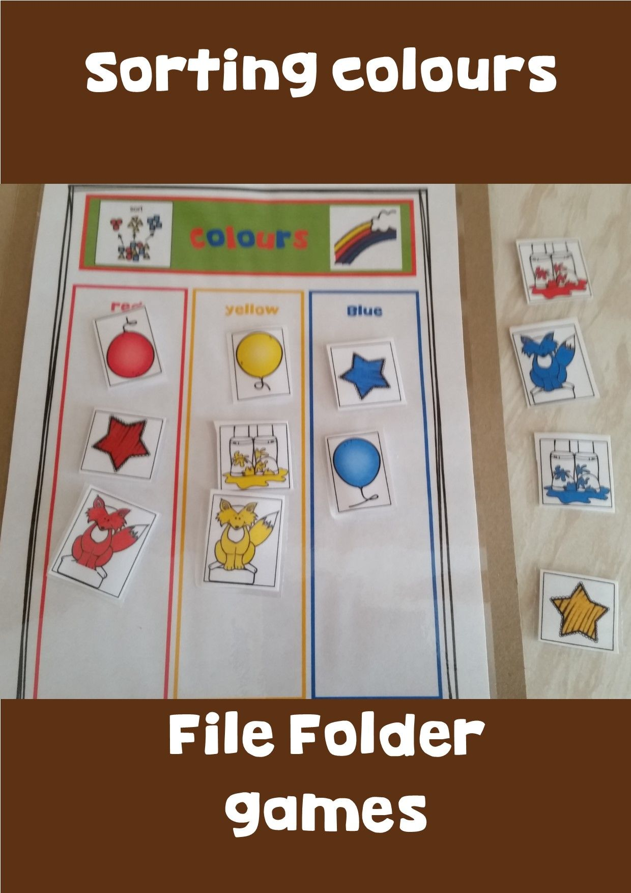 Sorting Big And Small File Folders For The Fall