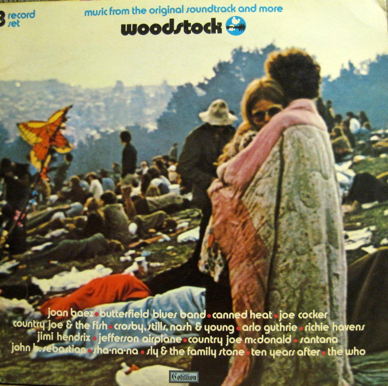 Original 70 Woodstock Soundtrack Cotillion Records 1st U