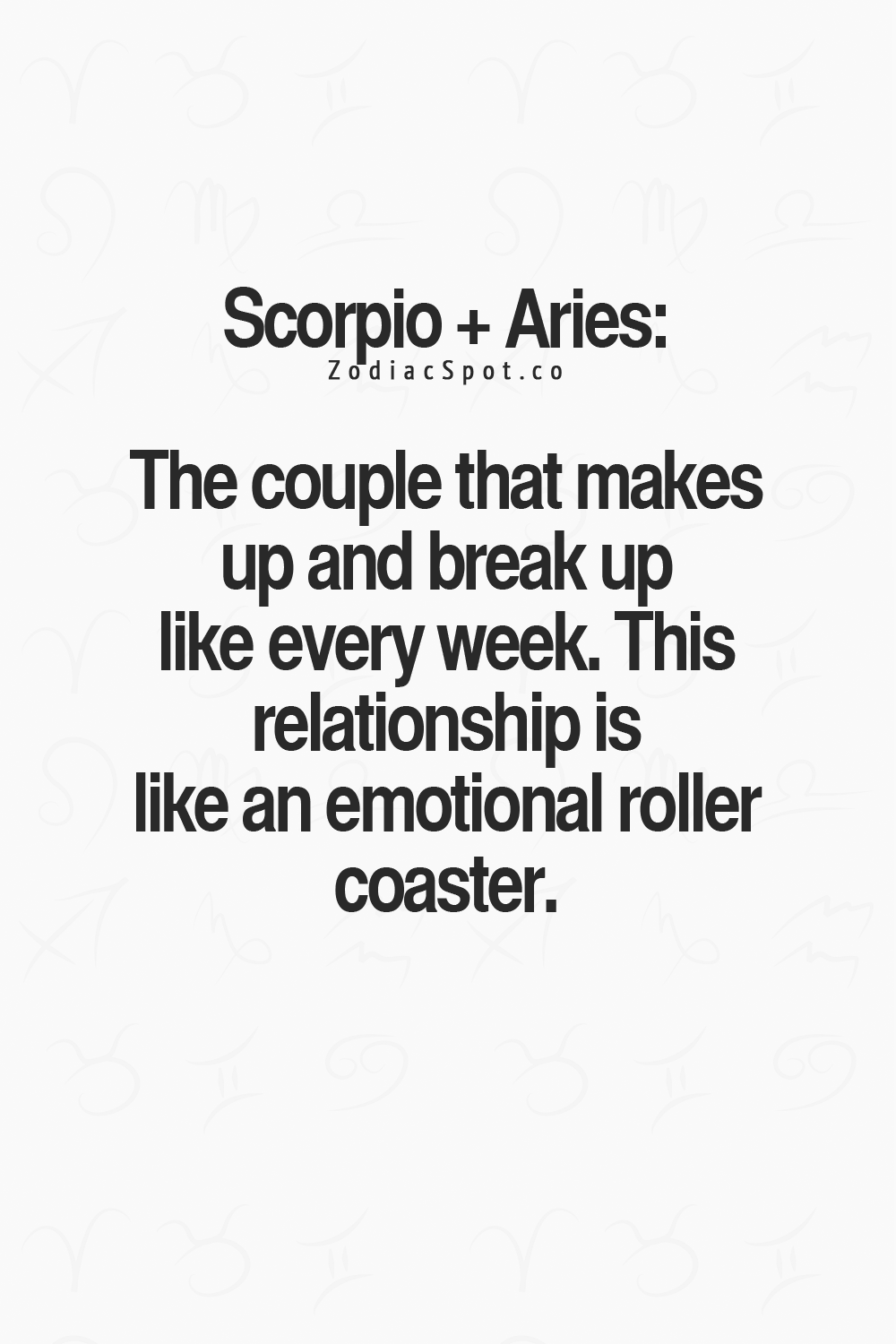 Scorpio Woman and Aries Male in Love