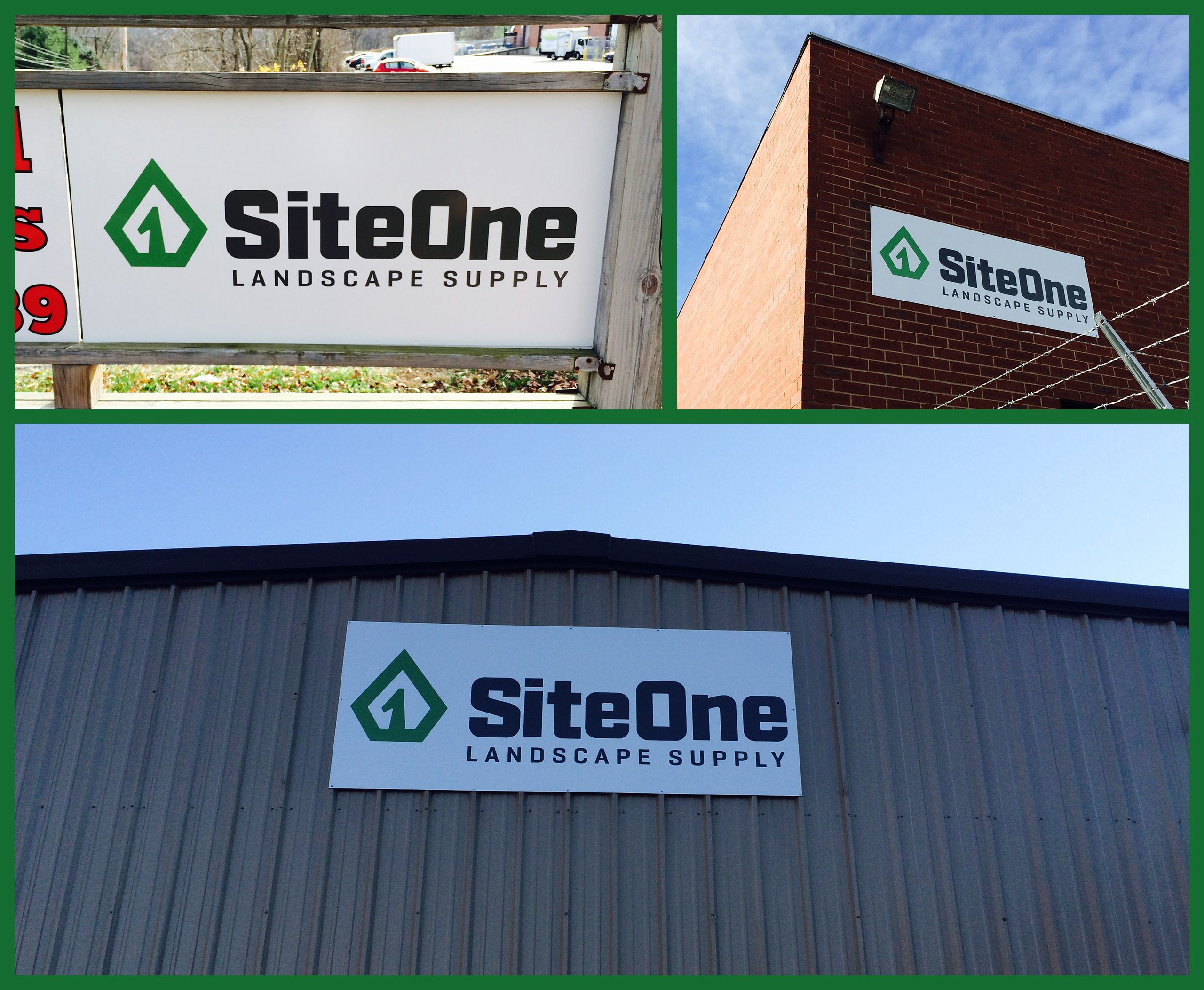#Aluminum signs were a durable solution for Site One Landscape Supply. 412-264-455