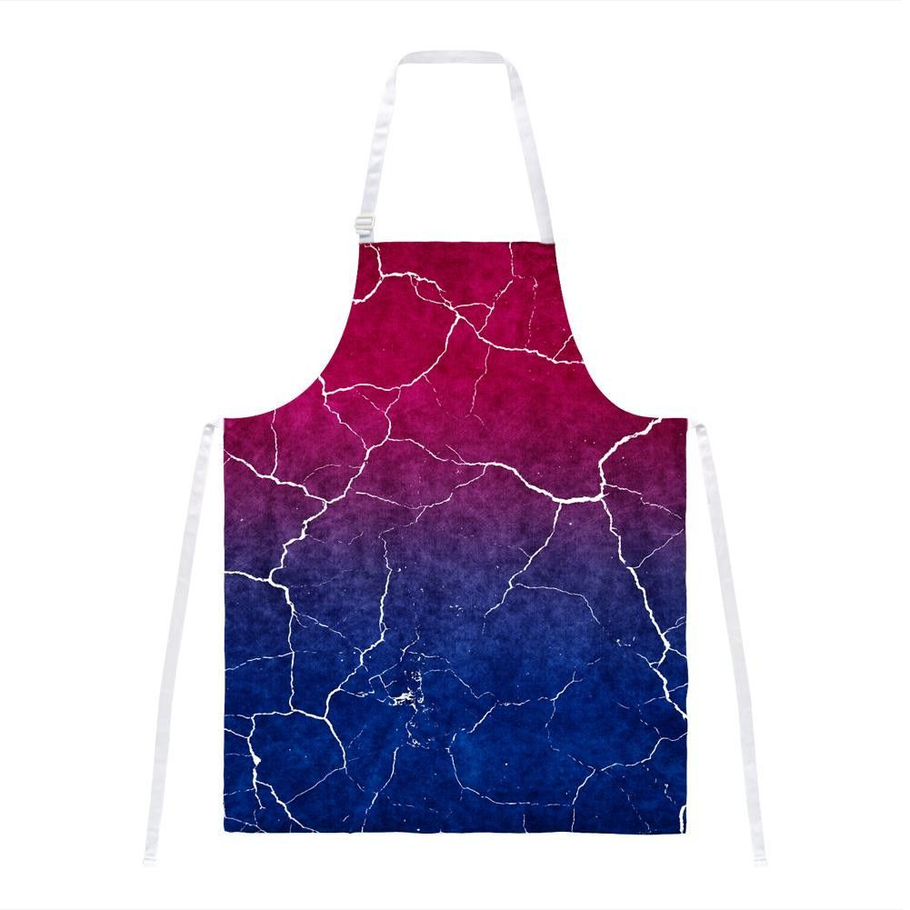 Distressed Bi-Sexual Gradient Flag All Over Apron | Products | Old