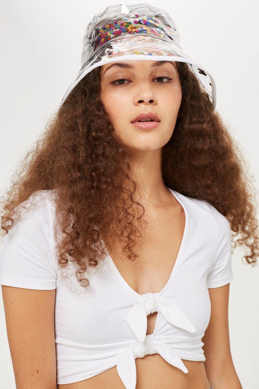 Heart Glitter Bucket Hat - Hats - Bags   Accessories in 2018  be26752d66a