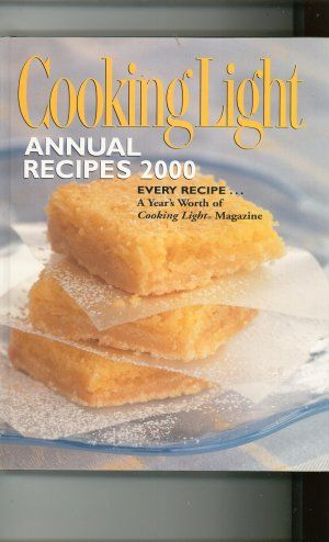 Cooking Light Annual Recipes 2000 Cookbook