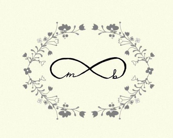 Infinity Wedding Art True Love Infinity Symbol By Studio Mela