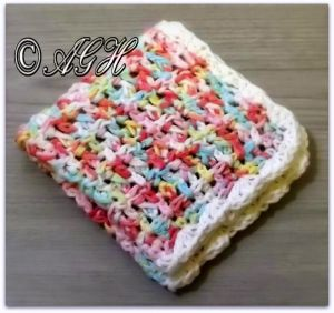 Textured Washcloth ~ AG Handmades