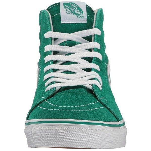 2361d2550ea Vans SK8-Hi ((Suede Canvas) Ultramarine Green True White) Skate ...