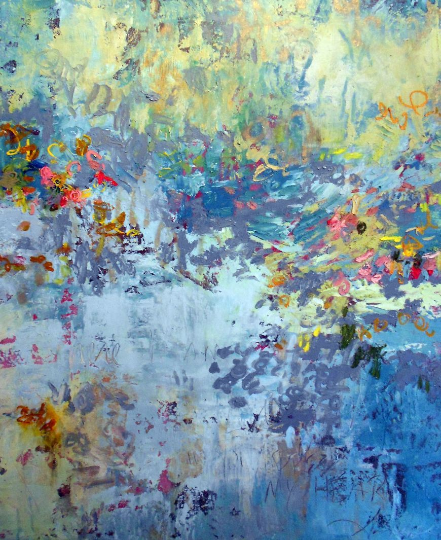 In his presence amy donaldson abstract art paintings