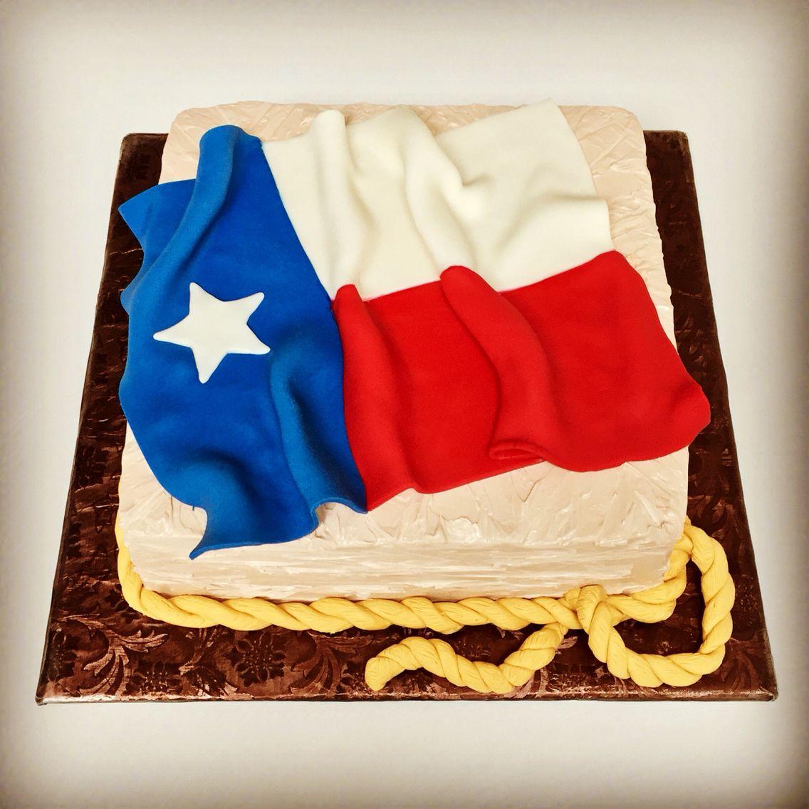 Sensational Texas Themed Birthday Cake For A Fellow Texan Happy Birthday Personalised Birthday Cards Veneteletsinfo