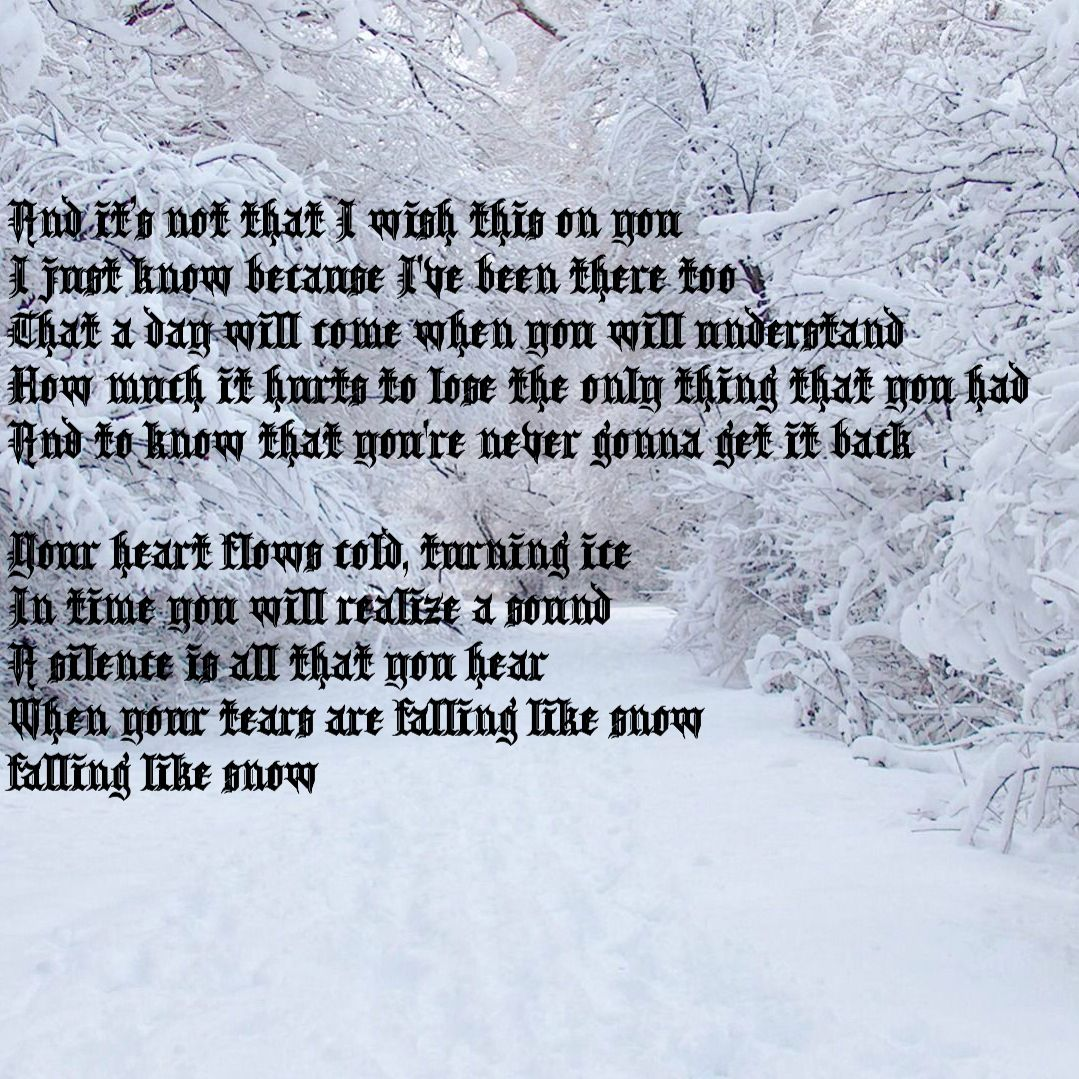machineheart snow snow lyrics