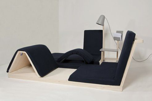 your living room furniture becomes a home gym with