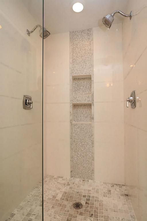 Cheap Shower Tile Ideas. Glass Mosaic Tiles Brown Crystal ...