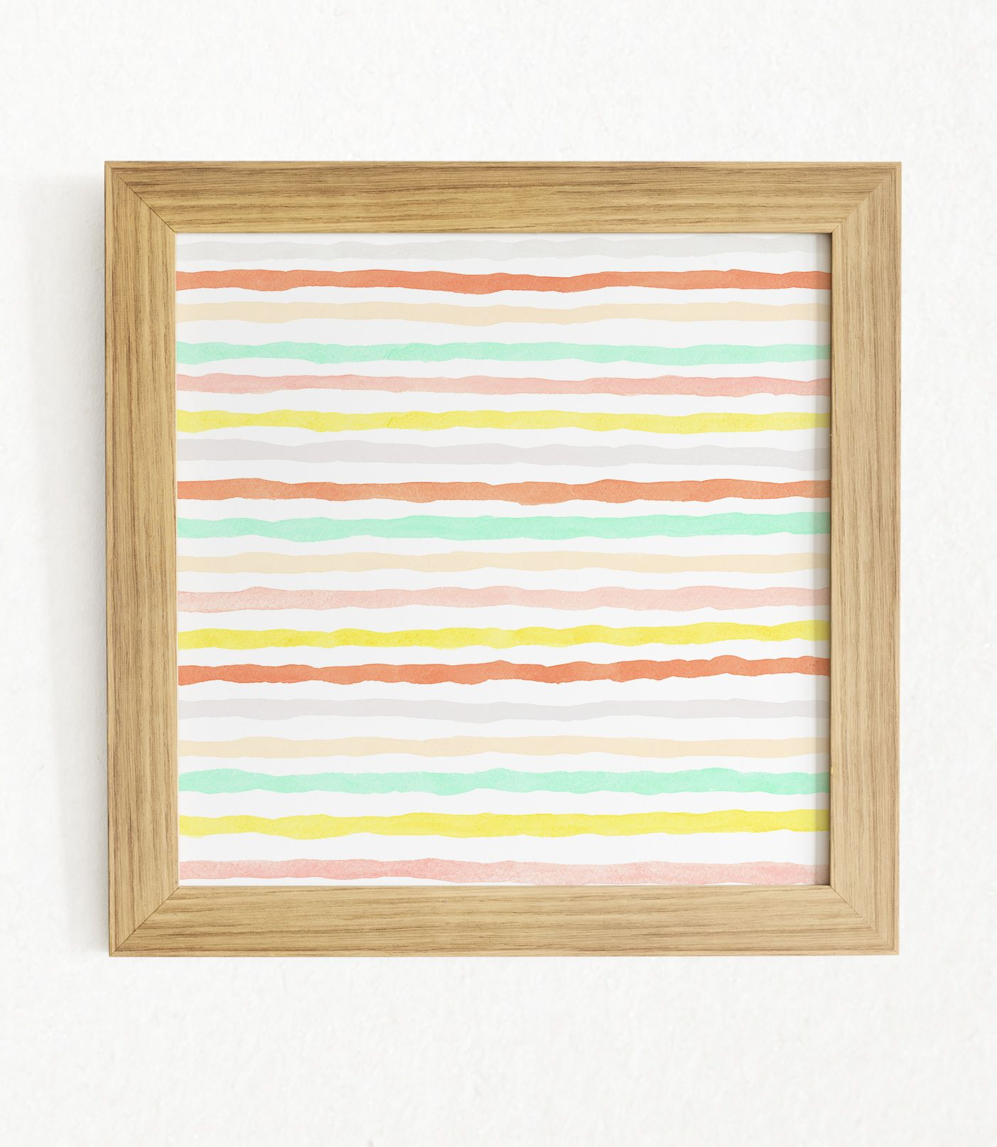 Set Of 2 Watercolor Printable Art Abstract Modern Prints Colorful Stripes Large Wall Art Pastel Colors Home Decor Ge Dibujos Acuarela Disenos De Unas