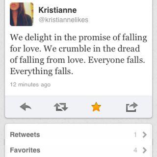 Words of Wisdom from Kristianne's Twitter....