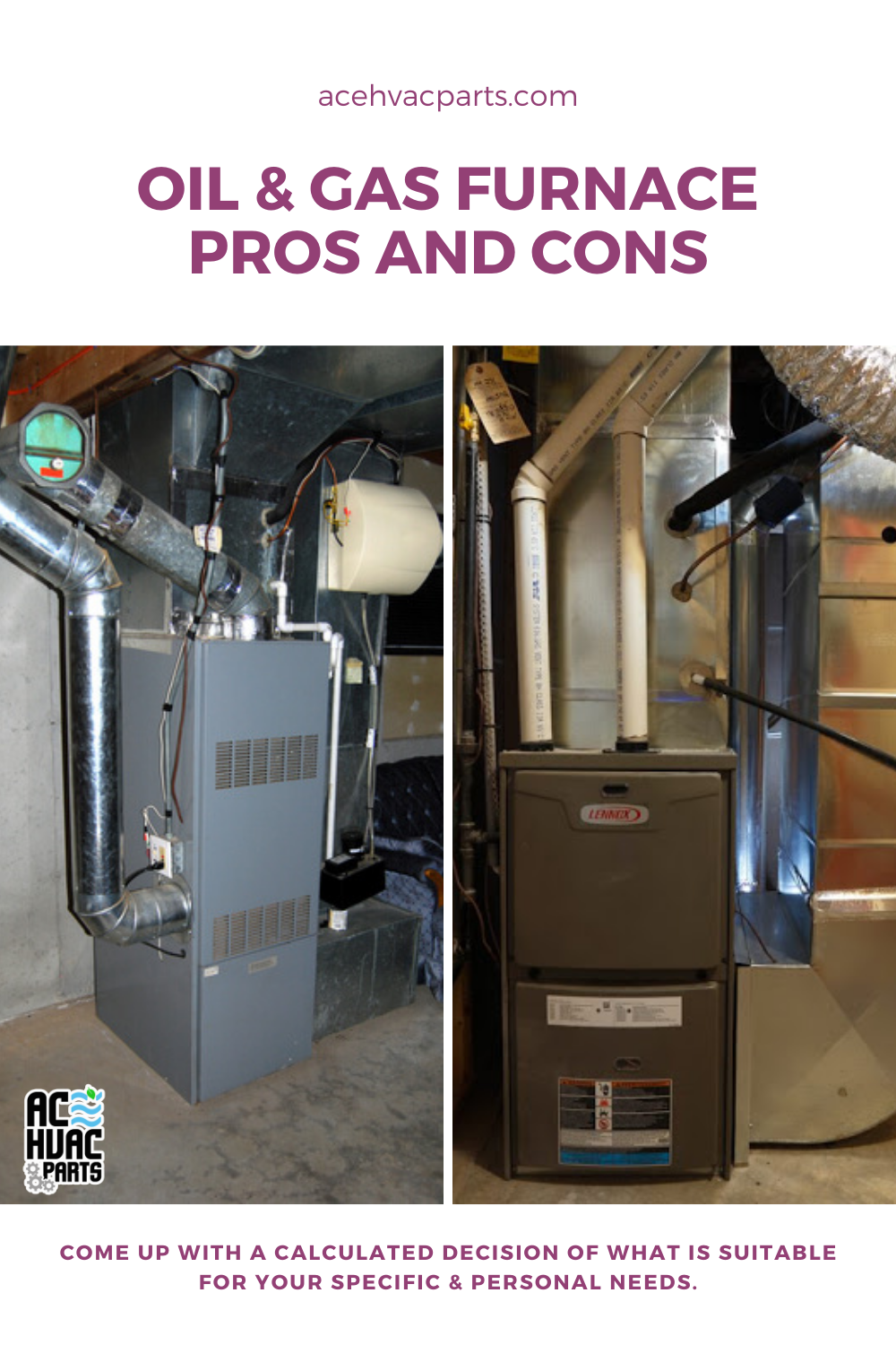 Oil Gas Furnace Pros And Cons All You Need To Know Oil And Gas Gas Furnace Gas