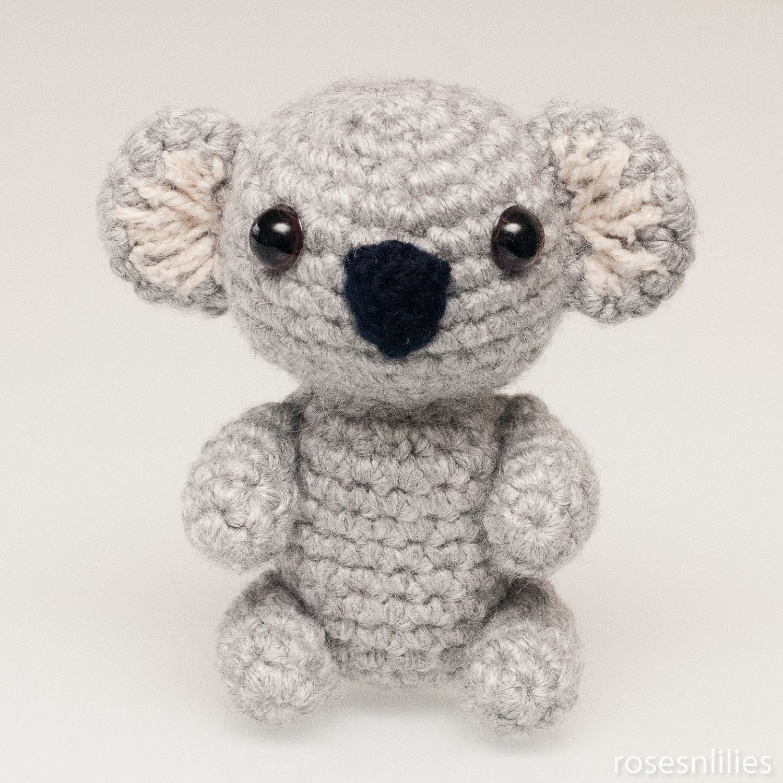 Amigurumi Koala Bear in 3 sizes Crochet Pattern by rosesnlilies ...