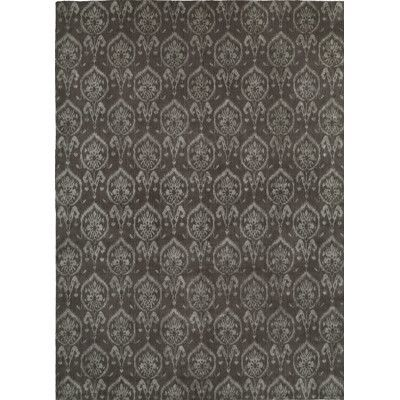 Wildon Home Hand Woven Gray Area Rug Rug Size 10 X 14 Grey Area Rug Area Rugs Black Area Rugs