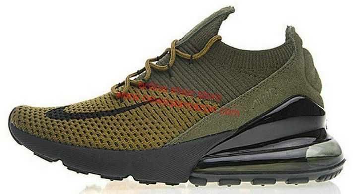 huge selection of 7c244 75f35 Spring Summer 2018 Genuine Nike Air Max 270 Flyknit Ao1023 300 Shoe