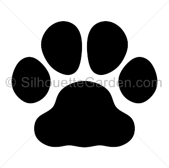 bulldog paw print silhouette clip art download free versions of the rh pinterest ca Bulldog Mascot Clip Art Bulldog Clip Art for Logos