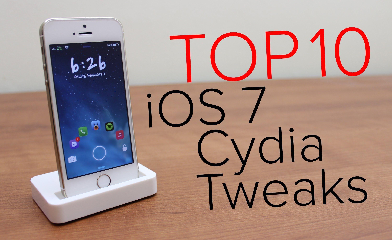 Top Ios 7 Cydia Tweaks Of 2014 Best 10 Ios 7 Ios 10 Things