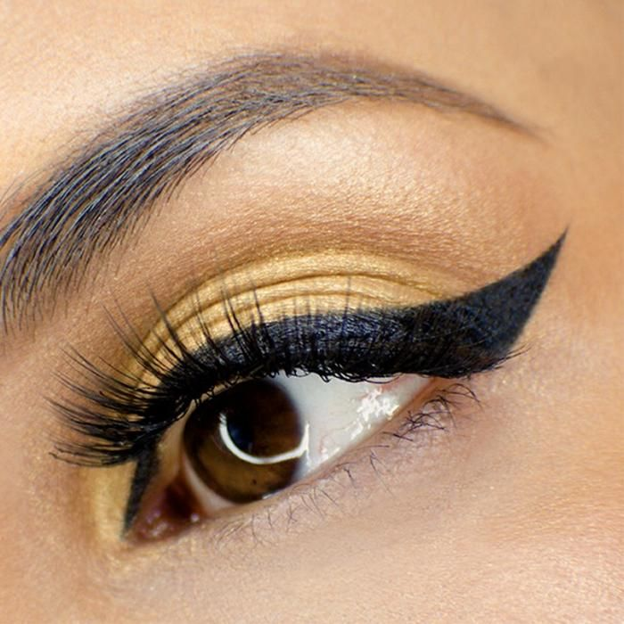 Cleopatra Cat Eye Stamp BOLD/BLACK
