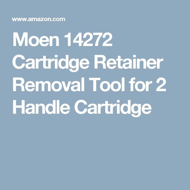 Moen 14272 Cartridge Retainer Removal Tool for 2 Handle Cartridge ...