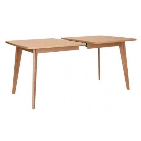 table kensay avec ou sans rallonges, inspiration nordique de