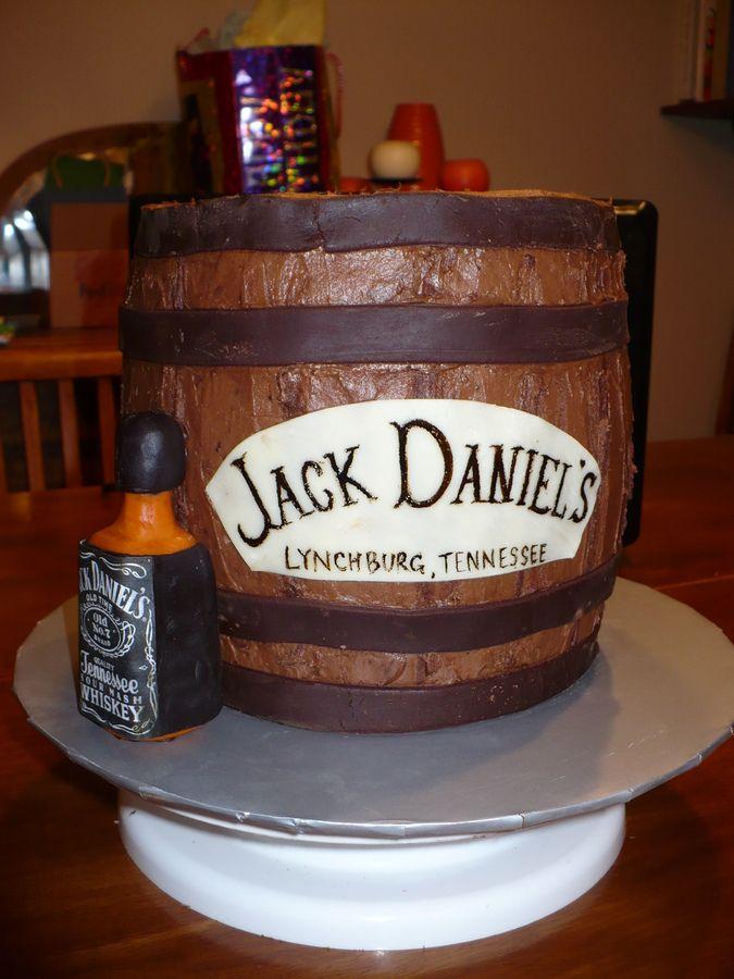 jackdanielsbirthdaycake Jack Daniels birthday cake Braids