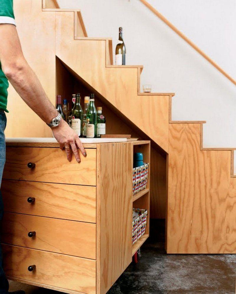 Rangement sous escalier et idées d'aménagement alternatif en 30 photos (avec images) | Rangement ...