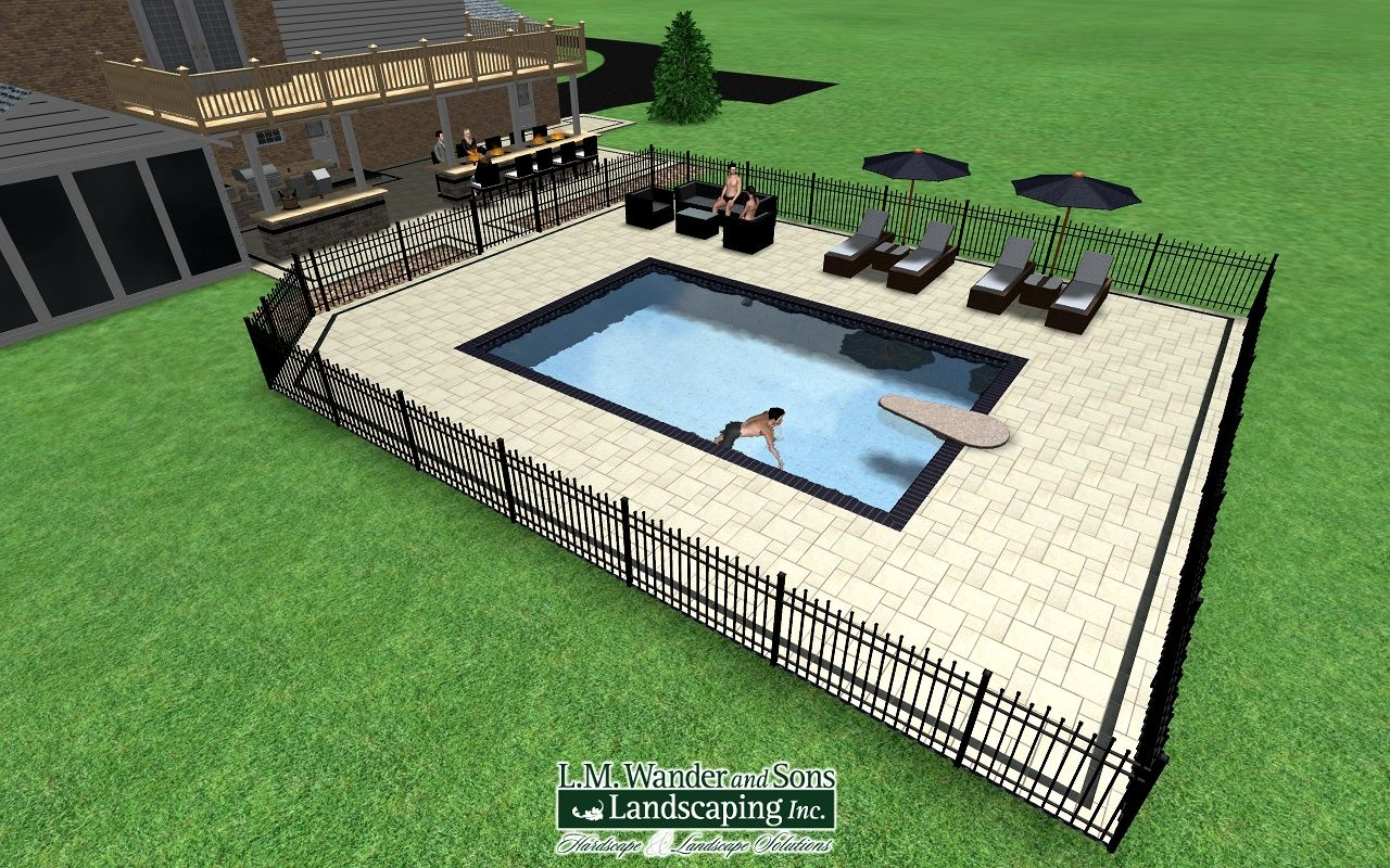 Design Realtime Landscape Architect Hardscape And