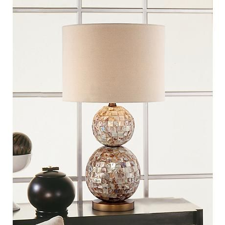 Danni Mother of Pearl Table Lamp