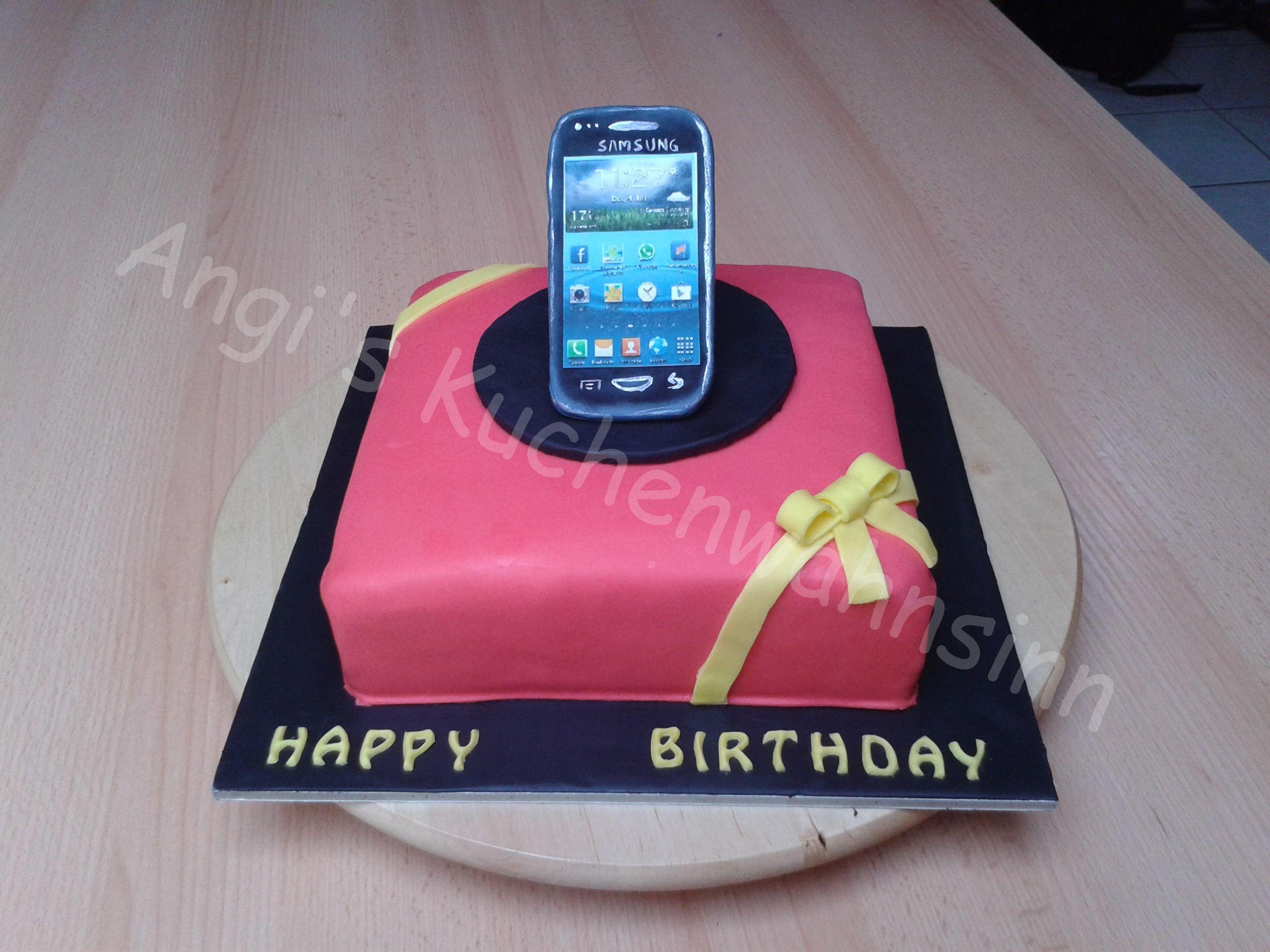 Handy Cake Handy Torte Motivtorte Leckereien Torten