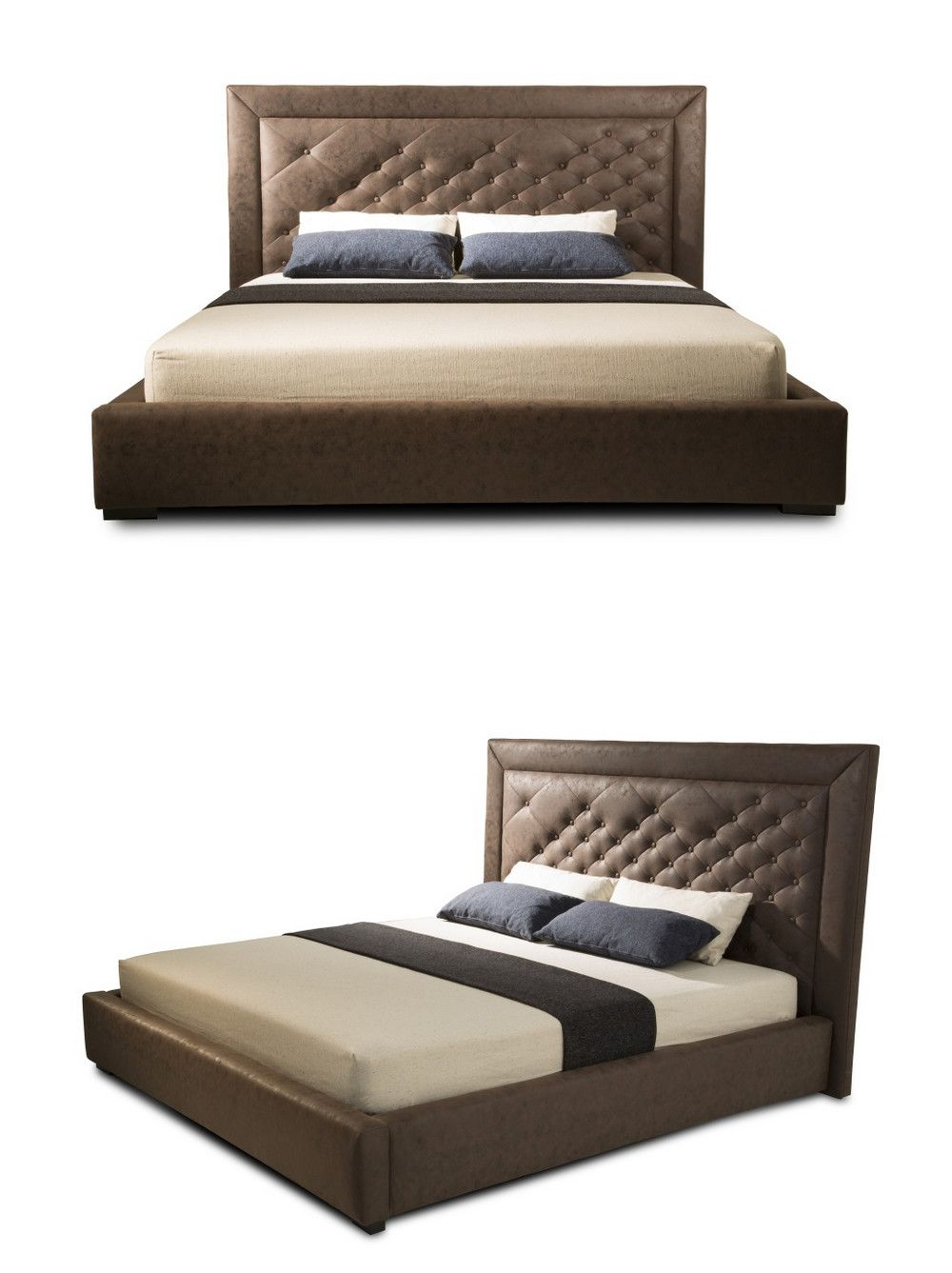 Hot Sale Home Furniture Queen Size Latest Bed Designs New Design