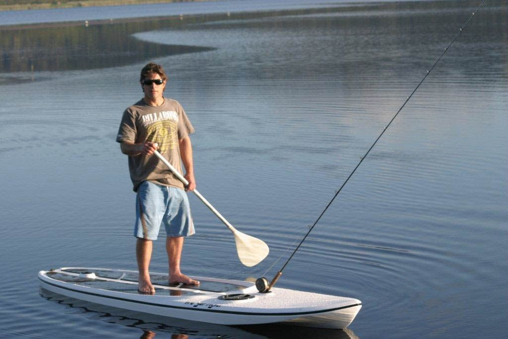 Sup fisher stand up paddle board for fishing fishing for Fly fishing paddle board