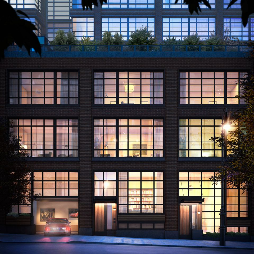 150charles Westvillage Condos Condominiums Charlesstreet Parkinggarage Nyc Real Estate West Village Townhouse Nyc Apartment