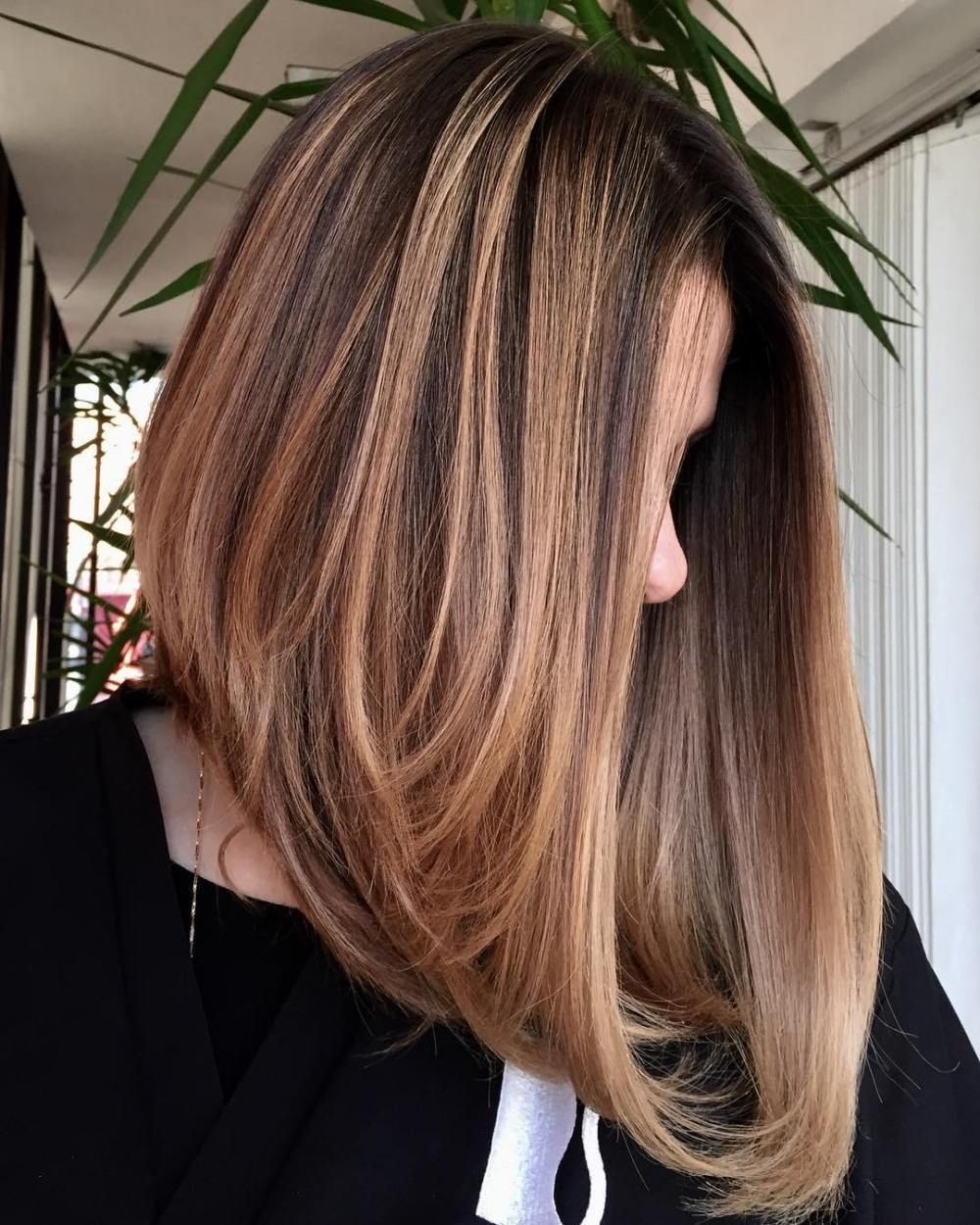 20 chic long inverted bobs to inspire your 2020 makeover