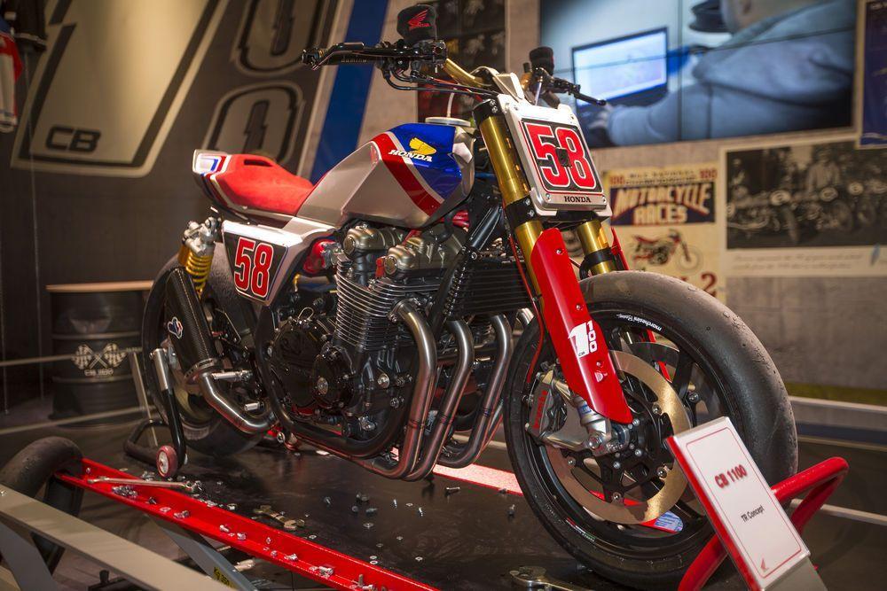 Honda lança CB1100 TR CONCEPT em homenagem a Marco Simoncelli ...