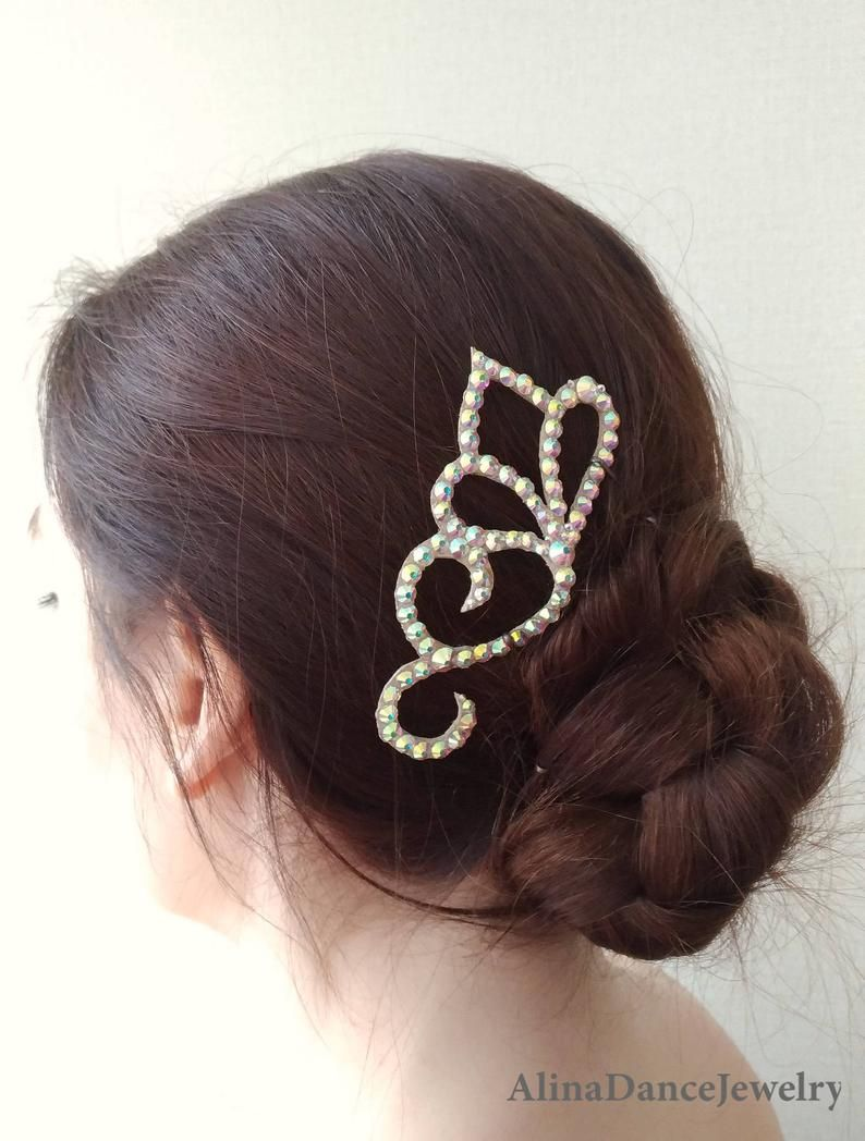 Ballroom Hair Piece Jewelry