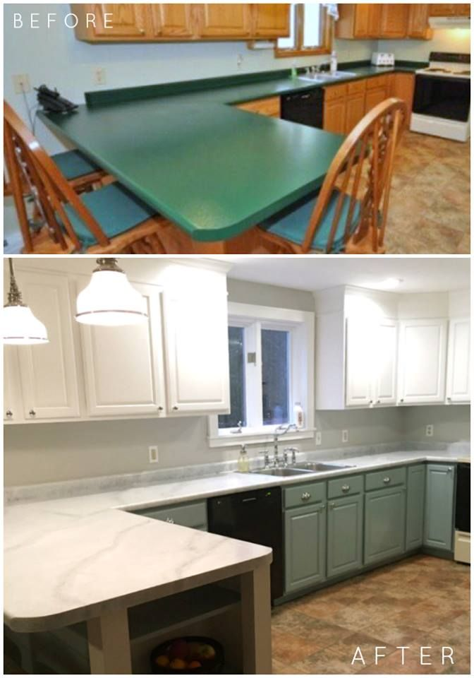 We Re Seriously In Love With This Diy Kitchen Renovation Completed