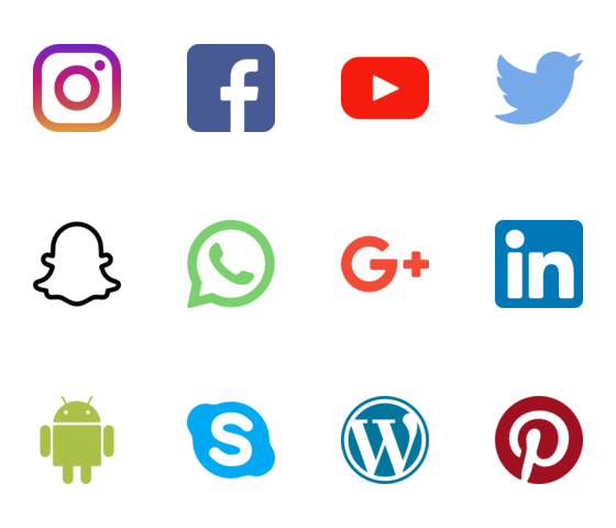 Flaticon The Largest Database Of Free Vector Icons In 2020 Social Media Logos Social Media Icons Free Social Media Icons