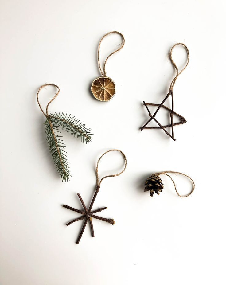 Nature Ornaments – Planted in the Woods Naturverzierungen – im Wald gepflanzt #xmasdecorations